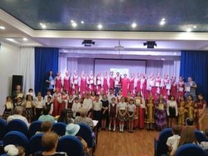 28 мая на сцене Дома культуры села Желтое  состоялся концерт районного фестиваля народного творчества «Обильный край, благословенный!..»